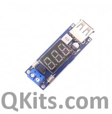 USB Charger with Voltmeter