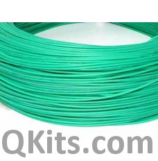 Green Silicone Wire 22 AWG