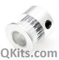 5mm toothed drive pulley for steppers
