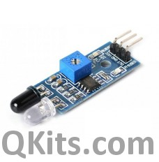 IR Infrared LED and diode with comparator