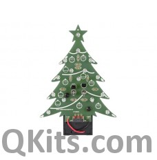 Velleman MK100B Blue Flashing LED Christmas Tree Kit