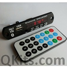 MP3 player with remote and Bluetooth