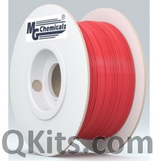 PLA17RE1 1.75mm PLA Filament Red 1KG MG Chemicals