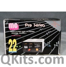 MG Electronics Pro Series Filtered Power Supply PS22