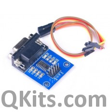 DB9 RS232 to TTL level converter image
