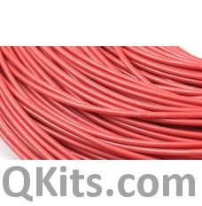 Red Silicone Wire 16 AWG
