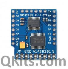WeMos mini motor driver shield