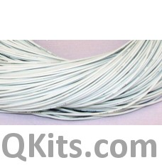 White Silicone Wire 18 AWG