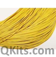 Yellow Silicone Wire 16 AWG