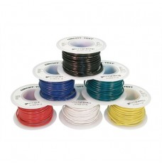 Hookup Wire BLACK, 22AWG, Stranded Core image