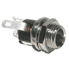 2.1mm chassis mount jack. image