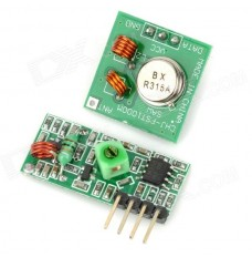 315MHz RF Transmitter and Receiver Set