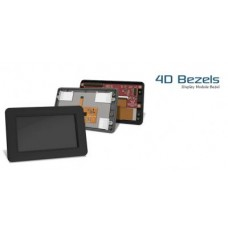 White Plastic Bezel for 4.3 inch Touch Screen image