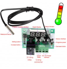 min LED thermometer