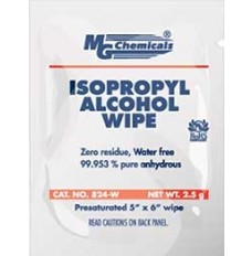 Alcohol Cleaning Wipes 50 pack 99.9% pure isopropyl