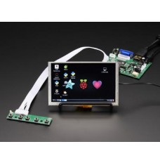 HDMI for Pi: 5 inch Display (w/Touch) 800x480 - HDMI/VGA/NTSC/PAL image