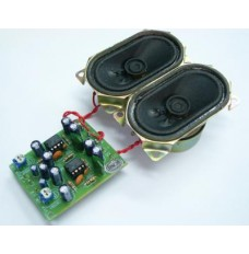 2   2W Power Amp Kit w/ Speakers image