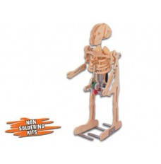 Skeleton Motorized Wooden Kit image