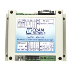 Modbus TCP Weather Station Gateway image
