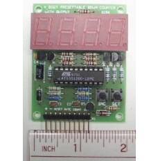 4 Digit Presettable Down Counter Kit image