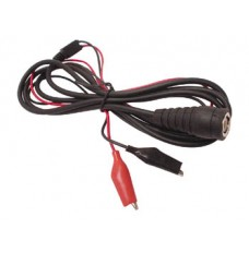 Coax Cable BNC Male   2 Croc clips image