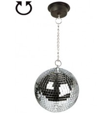 Mirror Ball with chain and motor image