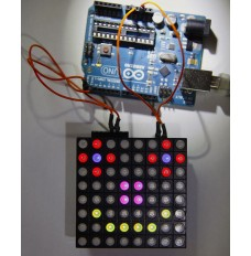 Colorduino connected to an UNO