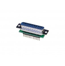 Male DB25 to breadboard adapter