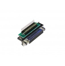 Female DB25 to breadboard adapter