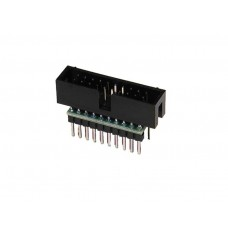 IDC ribbon cable to breadboard adapter 20 pin