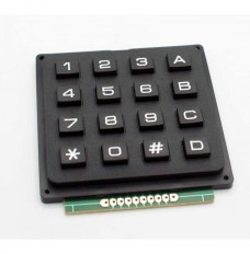 16 button keypad matrix