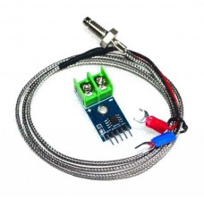 MAX6675 Module + K Type Thermocouple Temperature Sensor perfect for Arduino project, now you can monitor high temperature processes with low cost hardware.
