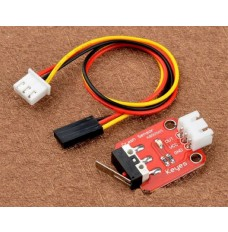 Mechanical end stop micro switch assembly