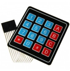 4x4 hexadecimal keypad with 8 pin .1 inch socket