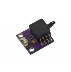 mounted MPXV7002DP sensor with cable