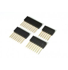 Stackable Pin Header Set for Arduino Uno