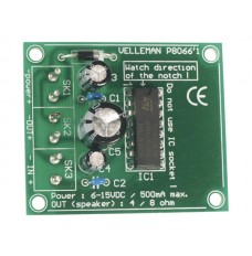3W Mono Amplifier Kit image Velleman K8066
