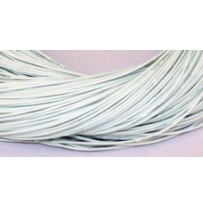 White Silicone Wire 22 AWG