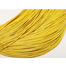Yellow Silicone Wire 18 AWG