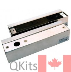 Bracket for Frame-less Glass Door w/ magnetic plate image