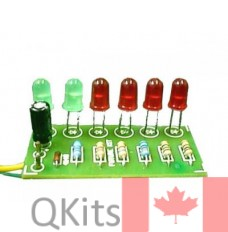 V.U. Meter Kit 6 LED (Power Supply Not Required) image