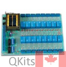 Universal Relay Kit with 16 Relays image