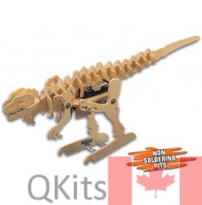 Tyrannomech Motorized Wooden Kit image