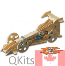 Automech Motorized Wooden Kit image