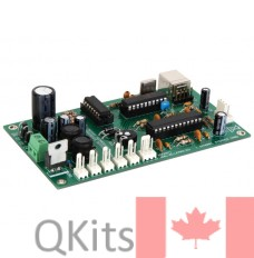 velleman K8096 single stepper motor driver kit image side view