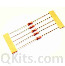 10R ohm 1 watt metal film resistors