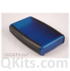 ABS Plastic - Soft Sided Hand Held, Translucent Blue image