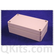 Water tight, flat lid, ABS enclosure