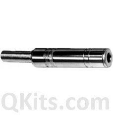 1/4 Inch Stereo Jack Metal