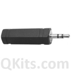 3.5mm P to 1/4 inch J Stereo Plug